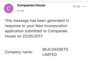Companies House Email